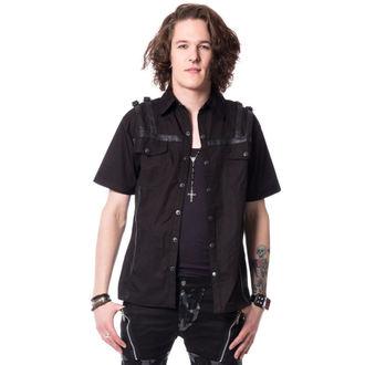 košile pánská VIXXSIN - STERLING - BLACK, VIXXSIN