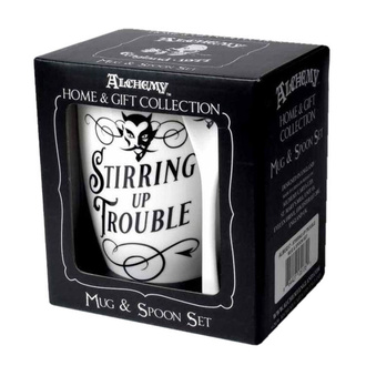 hrnek se lžičkou ALCHEMY GOTHIC - Stirring up Trouble, ALCHEMY GOTHIC