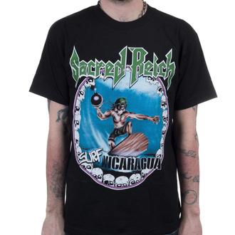 tričko pánské Sacred Reich - Surf Nicaragua - Black - INDIEMERCH, INDIEMERCH, Sacred Reich