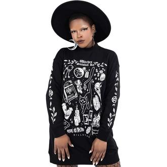 mikina dámská (šaty) KILLSTAR - Survival Kit Sweater - Black, KILLSTAR