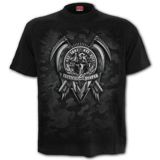 tričko pánské SPIRAL - TACTICAL REAPER - Black - T178M101