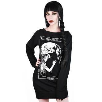 šaty dámské KILLSTAR - Wolfmoon - BLACK - KSRA001861