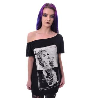 tričko dámské Heartless - TAROT - BLACK, HEARTLESS