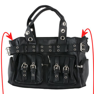 kabelka (taška) POIZEN INDUSTRIES - EVE - BLACK - POI265 - POŠKOZENÁ, POIZEN INDUSTRIES