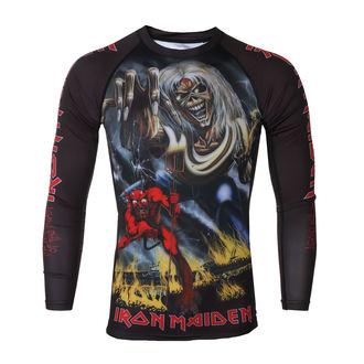 tričko pánské s dlouhým rukávem (technické) TATAMI - Iron Maiden - Number of the Beast - Rash Guard, TATAMI, Iron Maiden