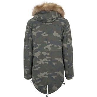 bunda pánská URBAN CLASSICS - Garment Parka - wood camo - TB1811