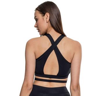 podprsenka sportovní URBAN CLASSICS - Active Fashion - black, URBAN CLASSICS