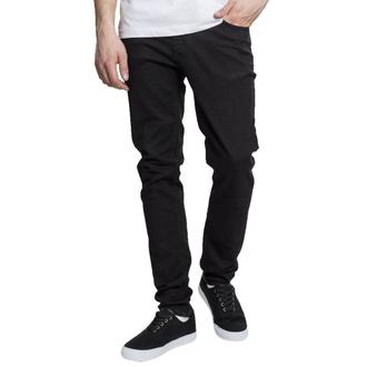 kalhoty pánské URBAN CLASSICS - Basic Stretch Twill 5 Pocket - black - TB2205