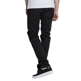 kalhoty pánské URBAN CLASSICS - Basic Stretch Twill 5 Pocket - black, URBAN CLASSICS