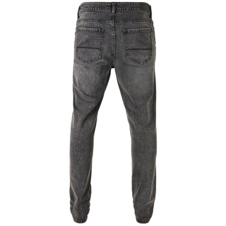 kalhoty pánské URBAN CLASSICS - Slim Fit Jeans - black washed, URBAN CLASSICS
