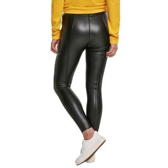 kalhoty dámské (legíny) URBAN CLASSICS - Faux Leather Skinny - black, URBAN CLASSICS