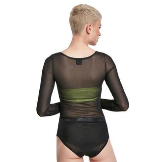 body dámské URBAN CLASSICS - Tech Mesh - black, URBAN CLASSICS