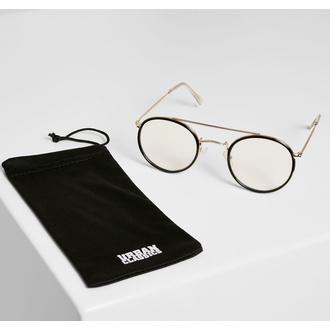 brýle sluneční URBAN CLASSICS - Palermo - transparent/gold - TB3588, URBAN CLASSICS