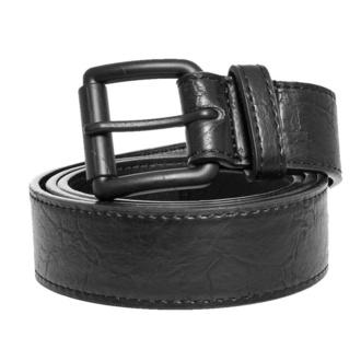 pásek URBAN CLASSICS - Marmorized PU Leather - black/black - TB3910