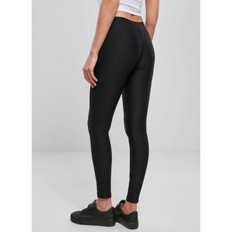 kalhoty dámské (legíny) URBAN CLASSICS - Tech Mesh Rib - black, URBAN CLASSICS