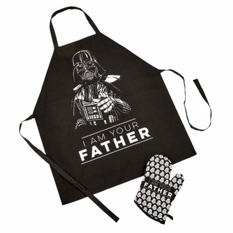 set (kuchyňská rukavice+zástěra) Star Wars - Fathers Day - I Am Your Father - FKSW06423