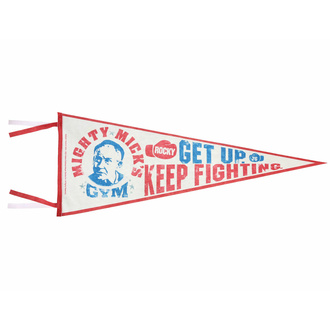 vlajka Rocky - Pennant Mighty Mick's Gym, NNM, Rocky
