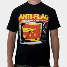 tričko pánské Anti Flag (The People Or The Gun) - Black - KINGS ROAD, KINGS ROAD, Anti-Flag