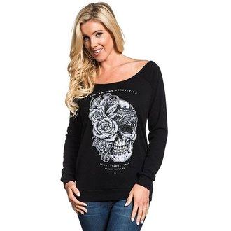 tričko dámské s dlouhým rukávem SULLEN - THE VAIL - BLACK, SULLEN