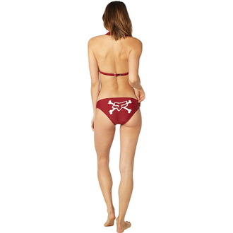 plavky dámské FOX - Throttle Maniac - Halter - Dark Red, FOX