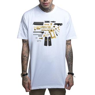 tričko pánské MAFIOSO - Assembly - WHT, MAFIOSO