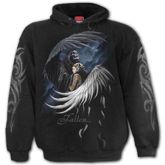mikina pánská SPIRAL - FALLEN - Black, SPIRAL