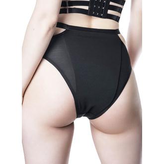 kalhotky dámské KILLSTAR - Tourniquet Posing - BLACK, KILLSTAR