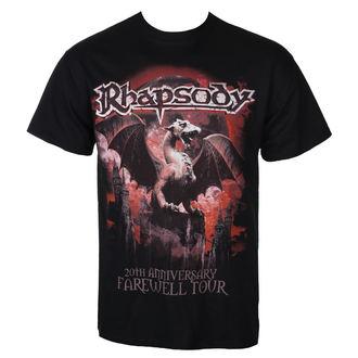 tričko pánské RHAPSODY - 20TH ANNIVERSARY - RAZAMATAZ