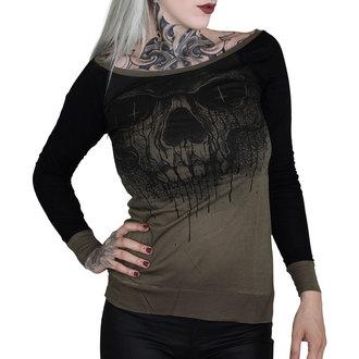 tričko dámské s dlouhým rukávem HYRAW - CRIME, HYRAW
