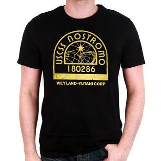 tričko pánské ALIEN - USCSS S04 - BLACK - LEGEND, LEGEND, Alien - Vetřelec