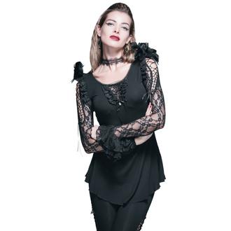 tričko dámské s dlouhým rukávem DEVIL FASHION - TT021