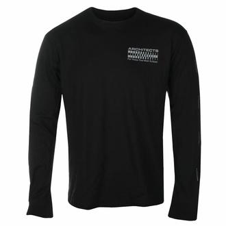 tričko pánské s dlouhým rukávem Architects - FTTWTE Grid - Black - KINGS ROAD - 20171028
