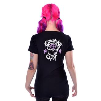 tričko dámské Cupcake Cult - UNICORN CLOUD - BLACK, CUPCAKE CULT