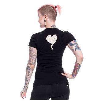 tričko dámské Cupcake Cult - UNICORN DREAM - BLACK, CUPCAKE CULT
