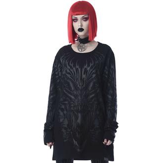 tričko unisex s dlouhým rukávem KILLSTAR - Untamed - Black, KILLSTAR