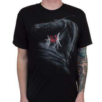 tričko pánské ENSLAVED - Horse - Black - INDIEMERCH - 53181
