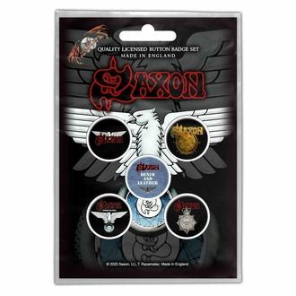 placky SAXON - WHEELS OF STEEL - RAZAMATAZ, RAZAMATAZ, Saxon