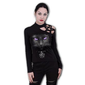 tričko dámské SPIRAL - BLACK CAT - Pentagram - D008F477