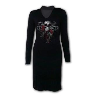 šaty dámské SPIRAL - SKULL ROSES, SPIRAL