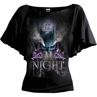 tričko dámské SPIRAL - Batman Top - I AM THE NIGHT - Black, SPIRAL, Batman