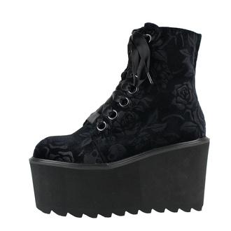 boty dámské KILLSTAR - Vampires Kiss Platform - BLACK - KSRA002748