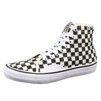 boty VANS - MN AV CLASSIC HIGH P (ChckrBrd) - Black/White, VANS