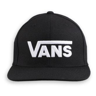 kšiltovka VANS - MN DROP V II - Black/White, VANS
