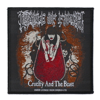 nášivka Cradle Of Filth - Cruelty And The Beast - RAZAMATAZ - SP3034