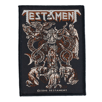 nášivka Testament - Demonarchy - RAZAMATAZ, RAZAMATAZ, Testament