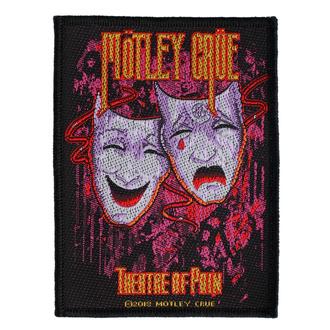 nášivka Mötley Crüe - Theatre Of Pain - RAZAMATAZ, RAZAMATAZ, Mötley Crüe
