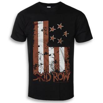 tričko pánské Skid Row - Stars & Stripes - Black - HYBRIS, HYBRIS