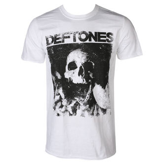 tričko pánské DEFTONES - SKULL - WHITE - PLASTIC HEAD, PLASTIC HEAD, Deftones