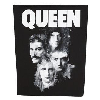 nášivka velká Queen - Faces - RAZAMATAZ, RAZAMATAZ, Queen
