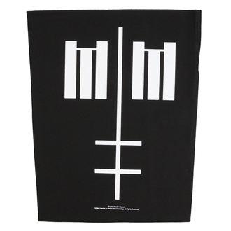 nášivka velká Marilyn Manson - Cross Logo - RAZAMATAZ, RAZAMATAZ, Marilyn Manson